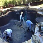 Arizona Pool Builder - New Custom Pool being Built