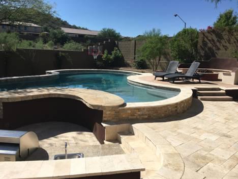 Arizona Pool Builder - Free Pebble Upgrade